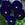 Pansies: Viola Wittrockiana, 'Karma™ Deep Blue Blotch'