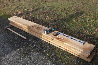 materials for a raised vegetable bed