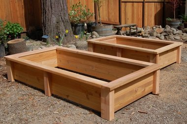 Garden Planter Box Design