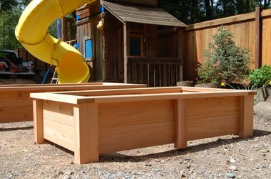 How To Make A Cedar Planting Box