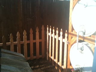 Another shot of the gate Dustin built.