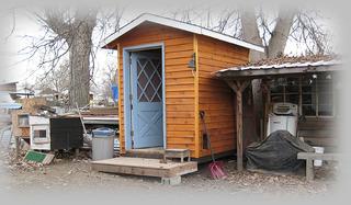 chicken condo, henhouse, shed