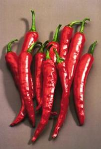 Pepper, Hot 'Super Cayenne II' Hybrid