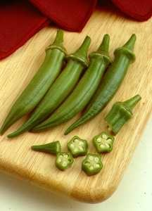 Okra, 'Cajun Delight' Hybrid