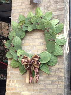 Prickly Pear Cactus Wreath