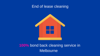 100% bond back cleaning service
